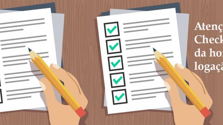 Professor, atenção ao checklist da homologação