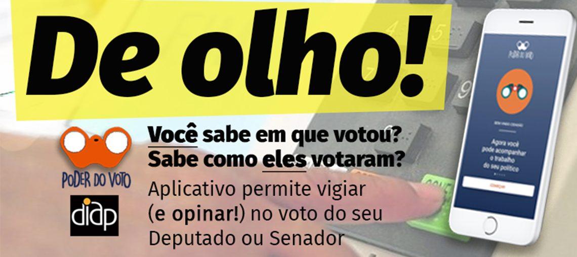 'Poder do Voto' permite que você diga ao seu deputado federal ou senador como votar em projetos do seu interesse