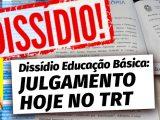 É hoje às 15h no TRT de São Paulo: julgamento do dissídio coletivo