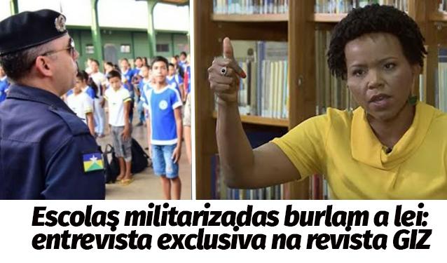 Entrevista com Catarina de Almeida Santos sobre Escolas Militarizadas