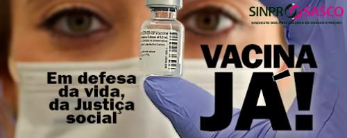 Professor, cadastre-se no site para receber a vacina contra a Covid19