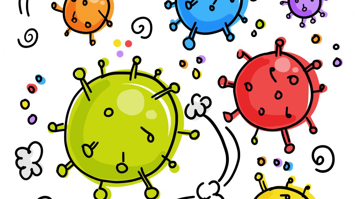 Entenda como o coronavírus se move na sala de aula e o caminho da contaminação